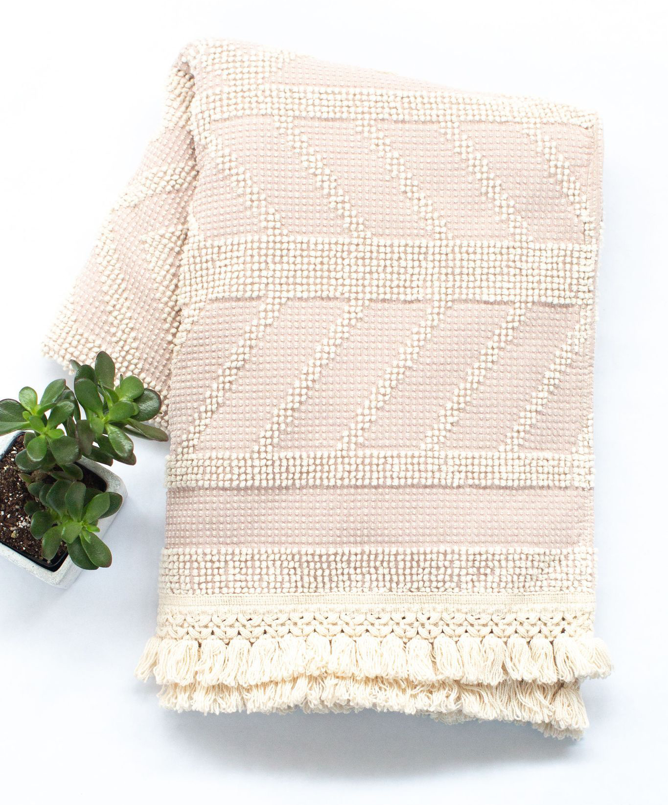Valentine's Day gifts for her, wife, girlfriend - Sackcloth + Ashes Darling Rose Blanket