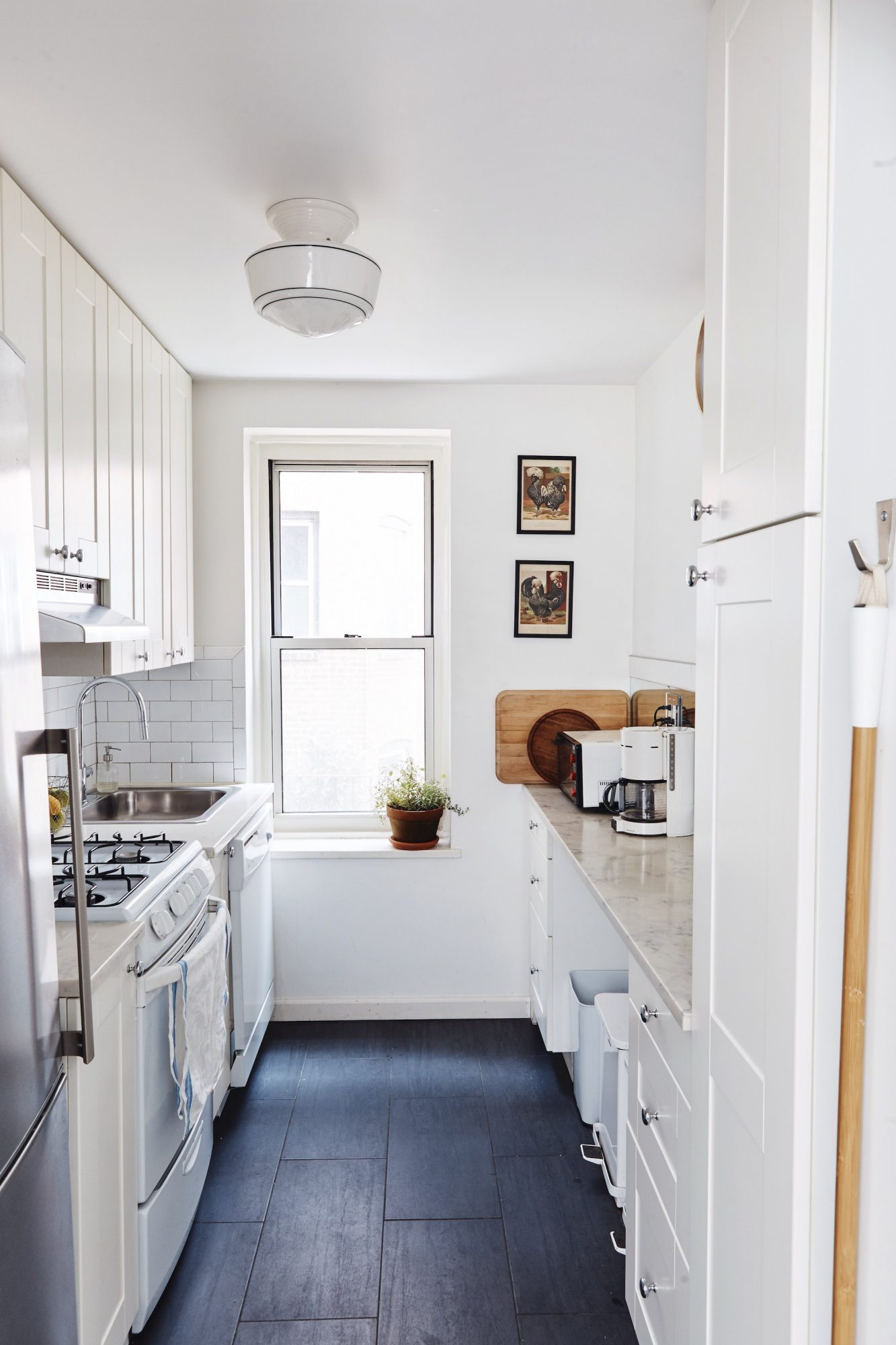 Small Space Organizing, Galley Kitchen