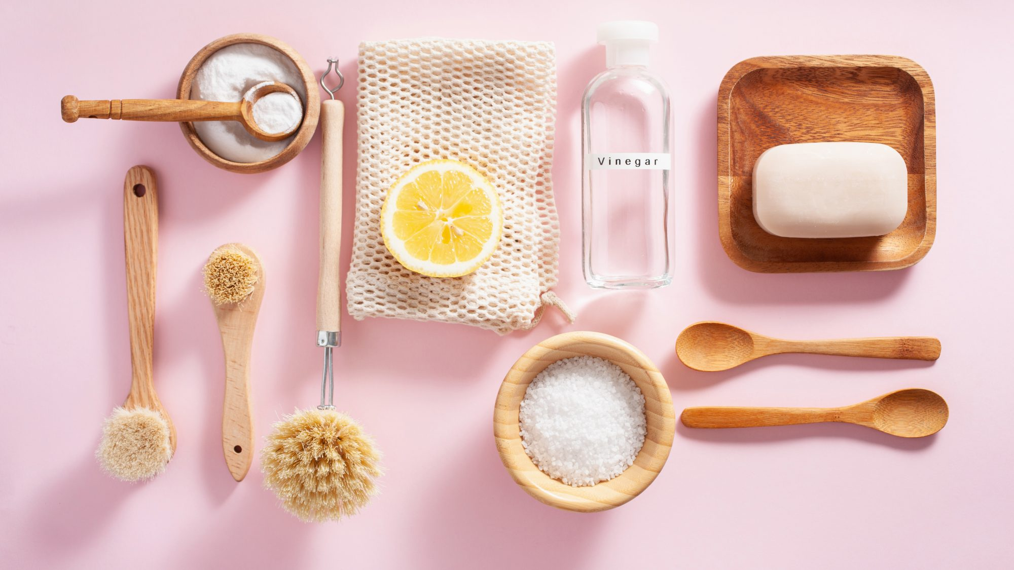 Homemade, natural cleaning solution recipes