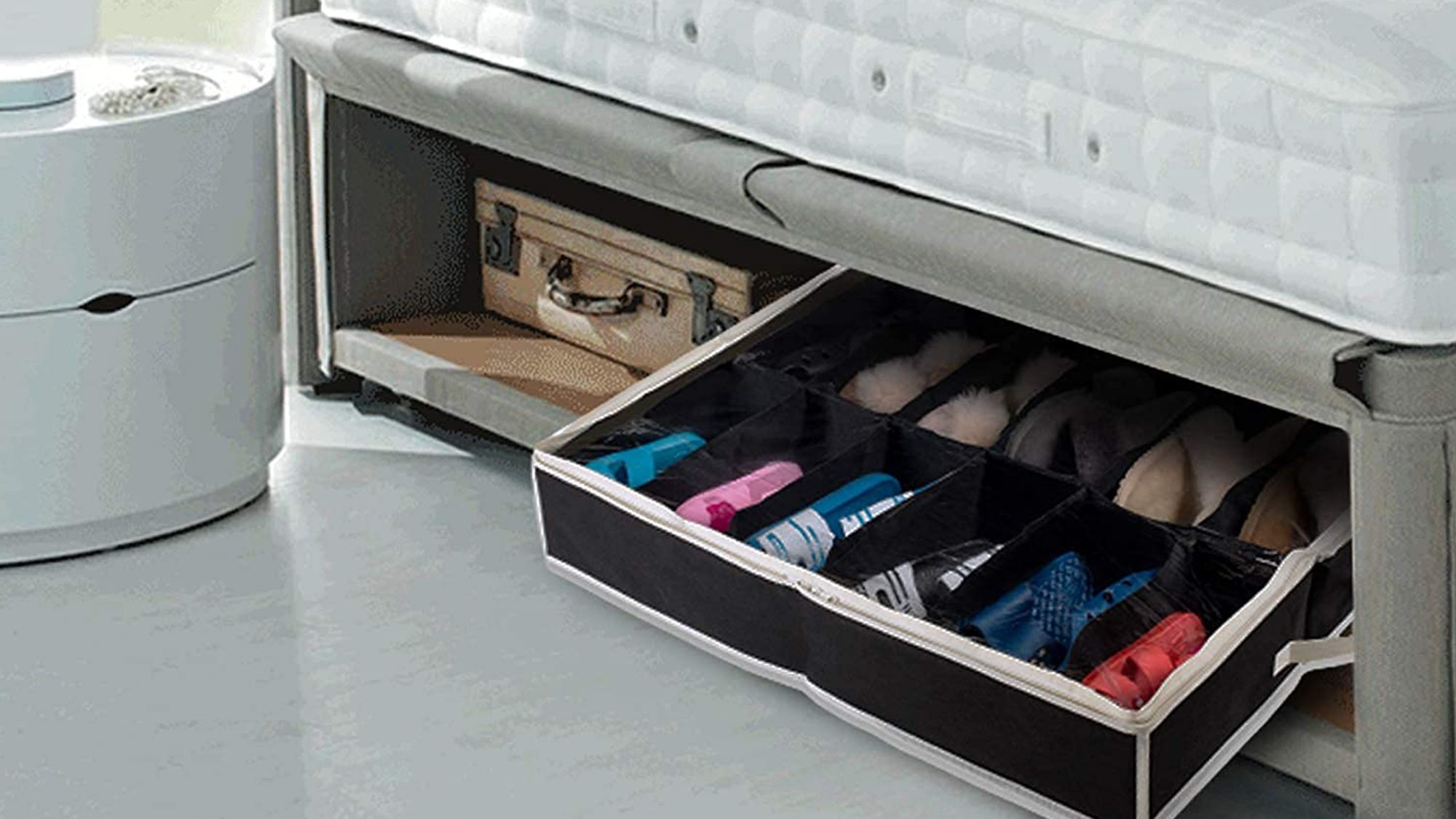 Woffit Under the Bed Shoe Organizer Fits