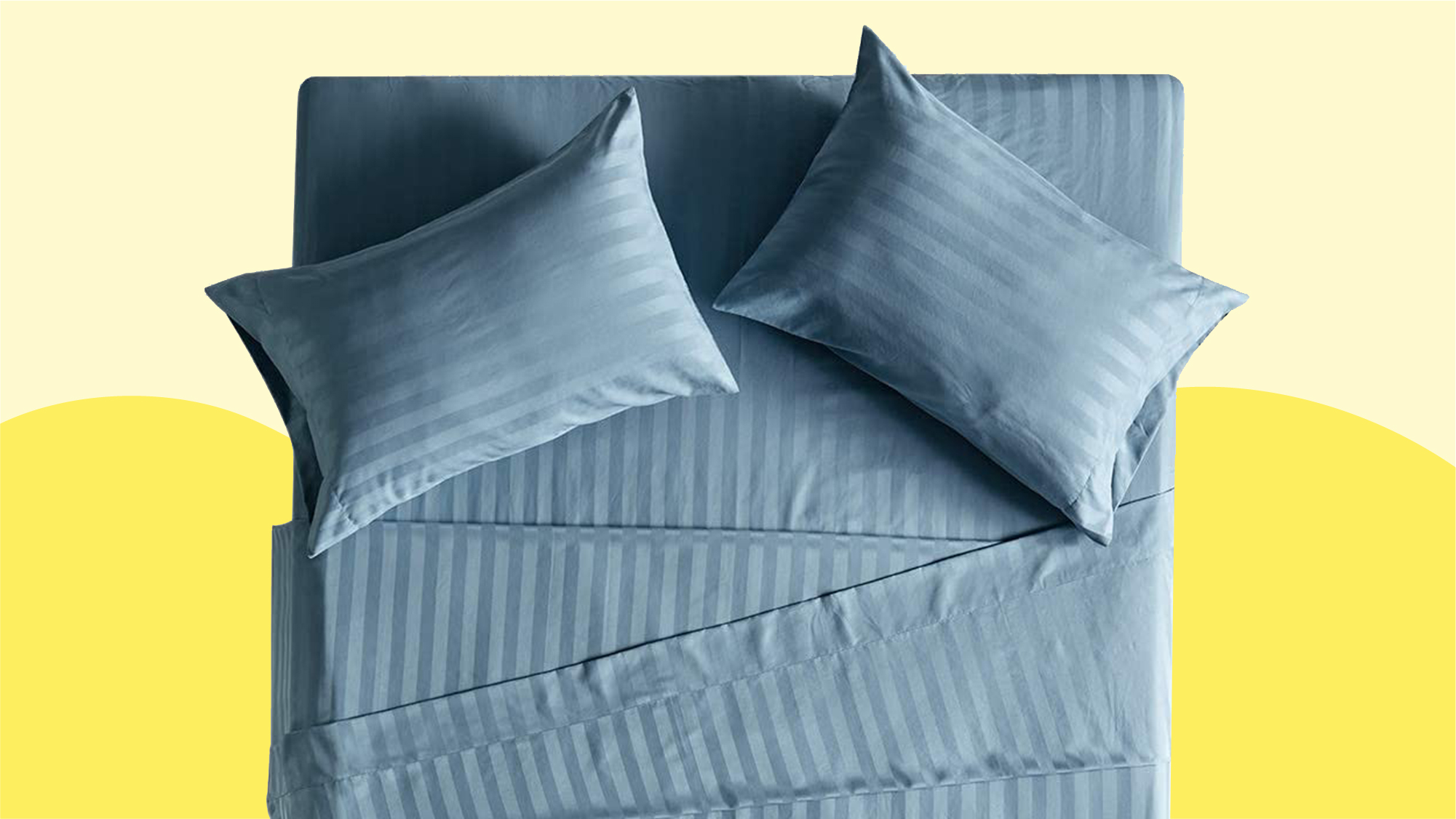 Best cooling bed sheets: Mellanni Jersey Sheet Set
