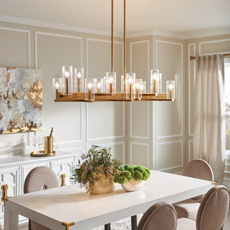 Home Decor to Splurge On, Chandelier in Dining Room