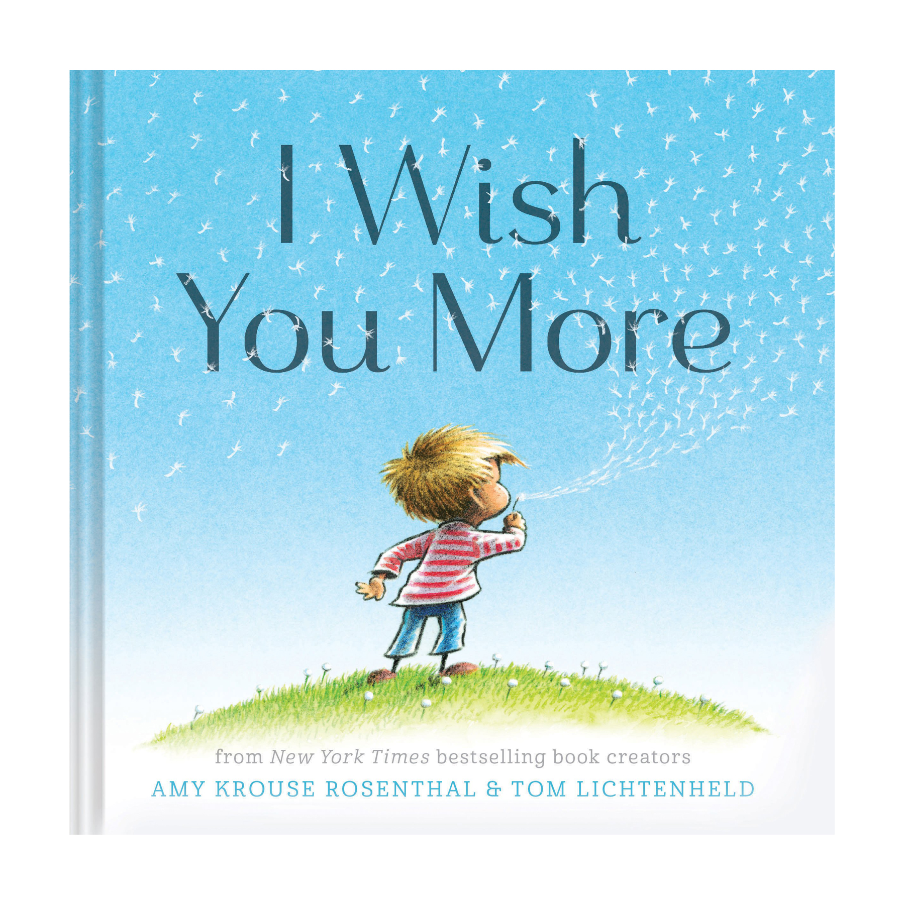 Best newborn baby gifts - I Wish You More by Amy Krouse Rosenthal and Tom Lichtenheld