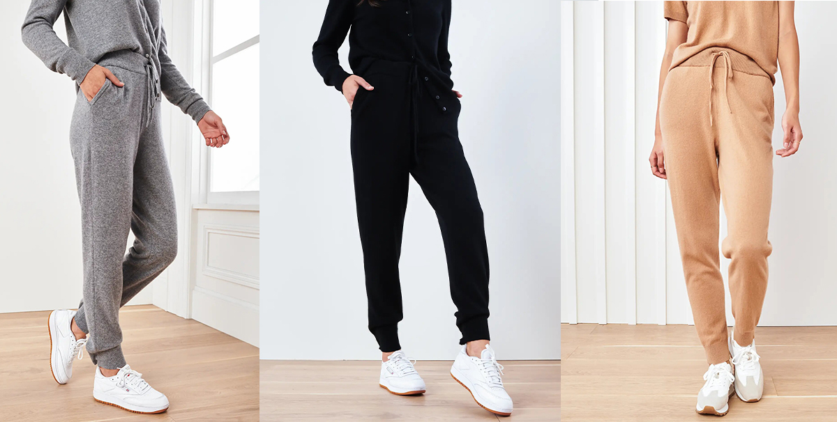 Quince Cashmere Joggers