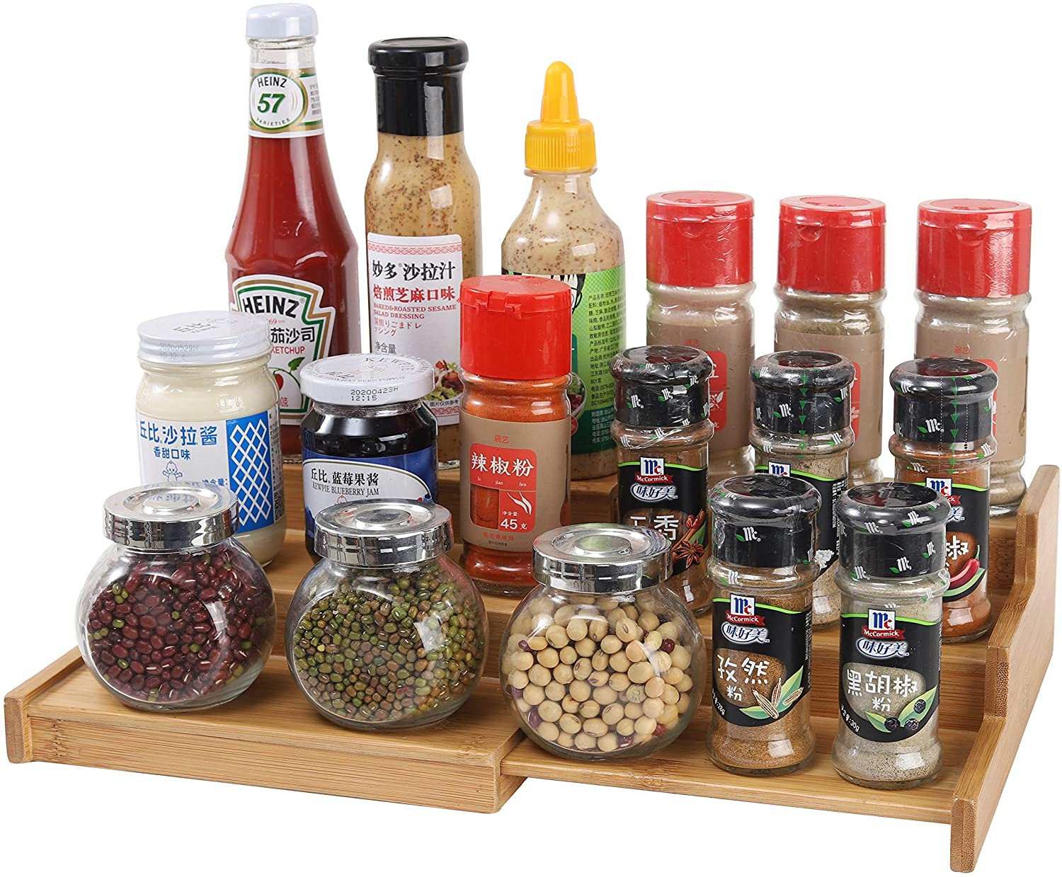 Simply Kitchen Video, Spice Rack with risers