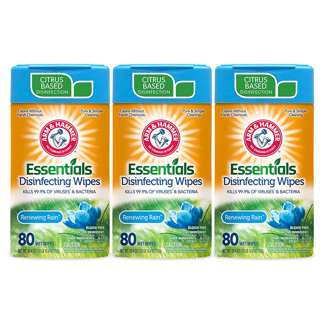 6 Clever Items (3/12/21) - Arm & Hammer Essentials Disinfecting Wipes