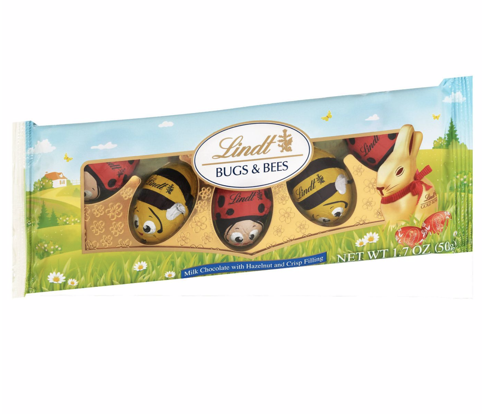 Lindt Chocolate Bugs and Bees