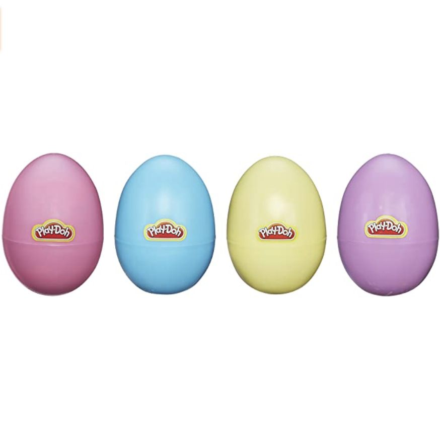 Play-Doh Easter Eggs