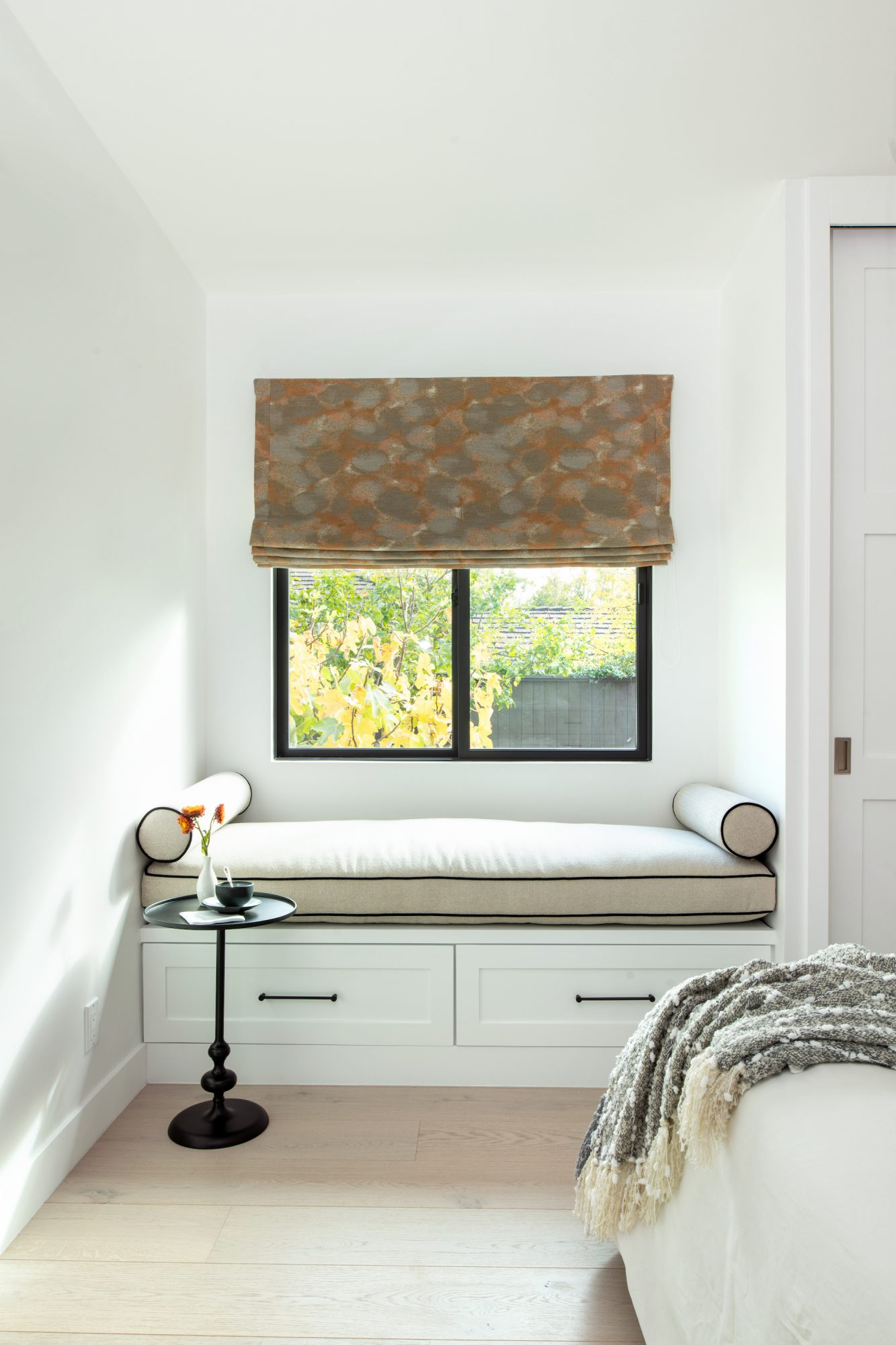 Space of the Week, Guest Room Reading Nook with window