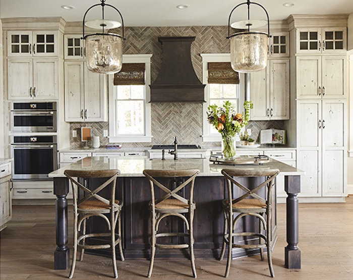 Southern Living Kitchen, Rustic Style