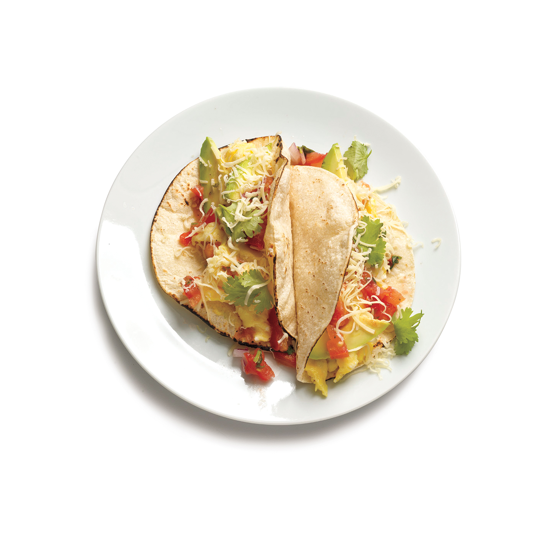Breakfast ideas with eggs - Scrambled Egg Tacos
