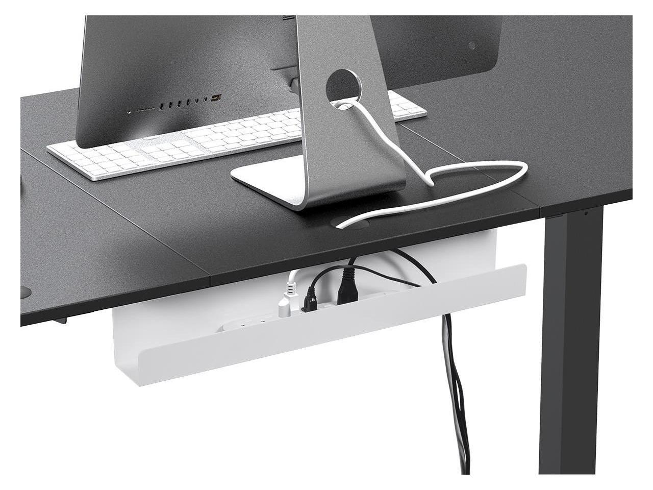 Under-Desk Cable Storage Tray