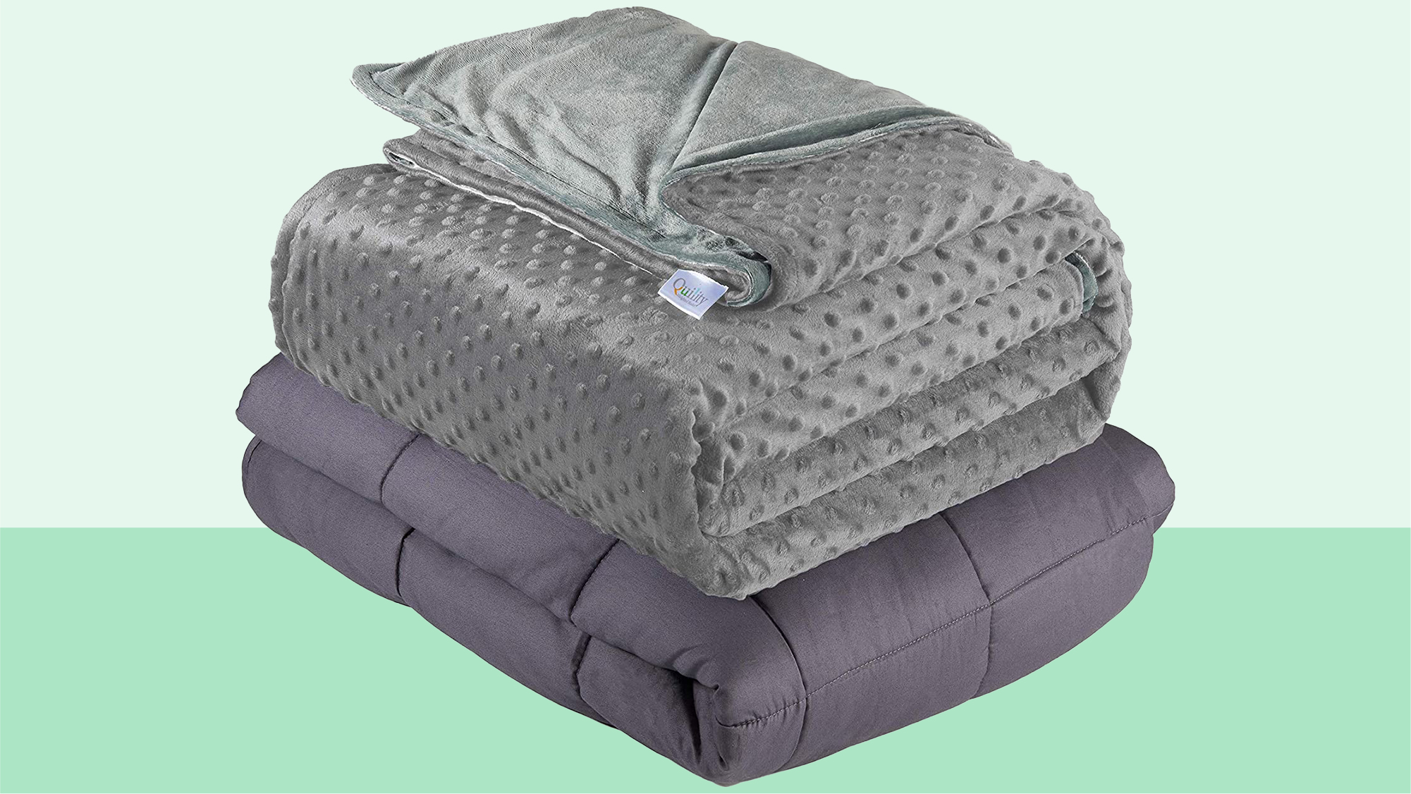 Quility Weighted Blanket for Adults - Queen Size