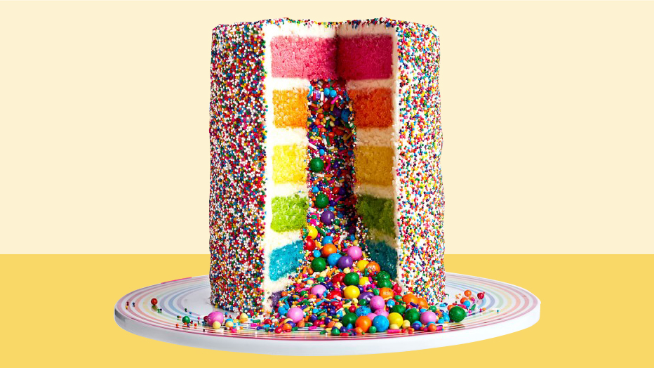 gifts-for-bakers: rainbow cake mix