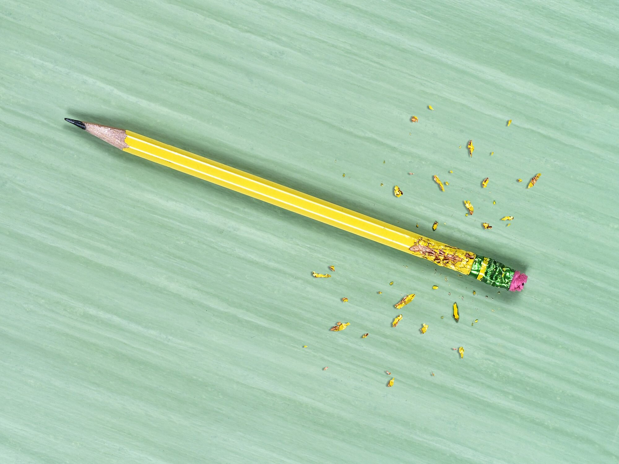 What Is Anticipatory Anxiety? What It Means and How to Help: pencil with bite marks