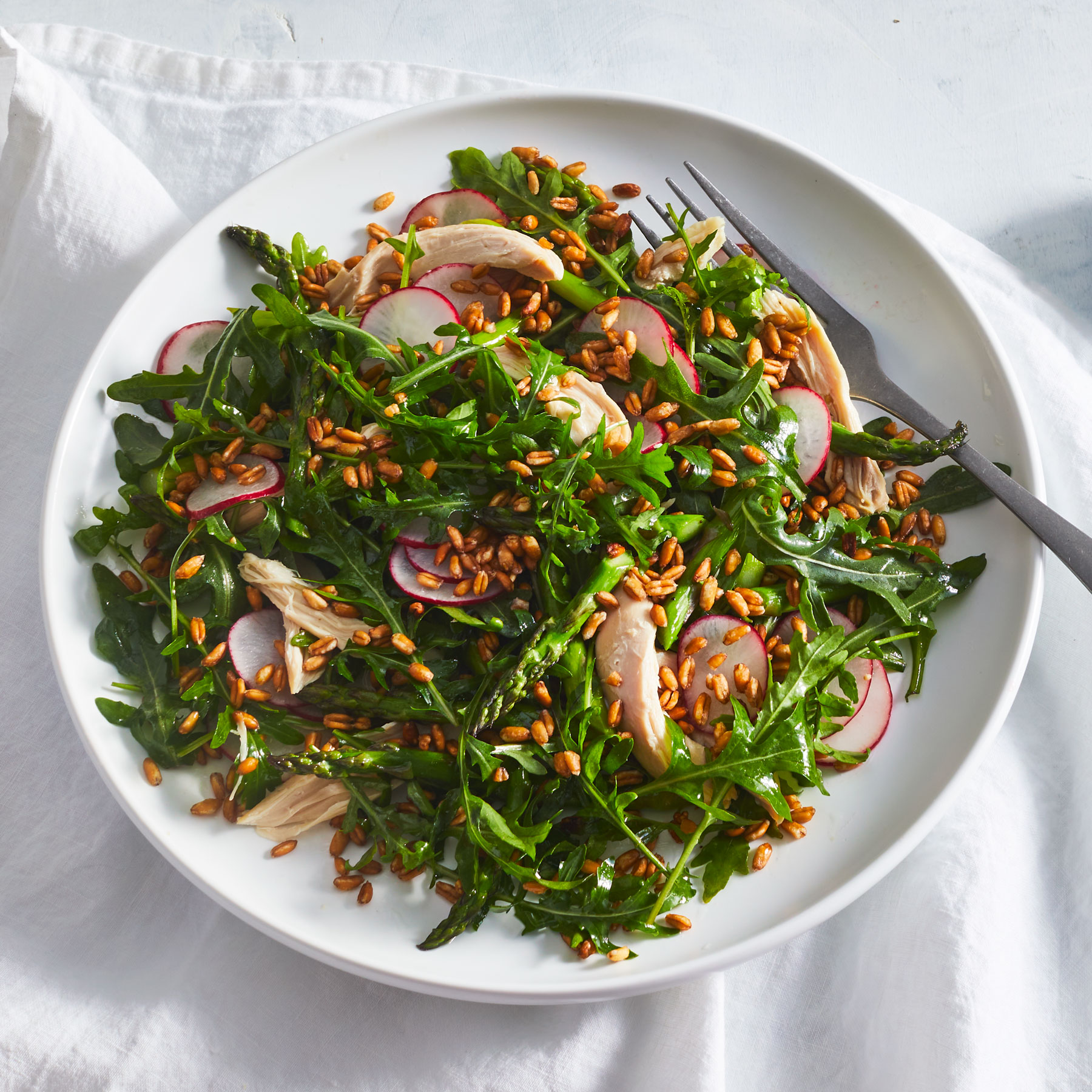 Salad with Chicken and Farro