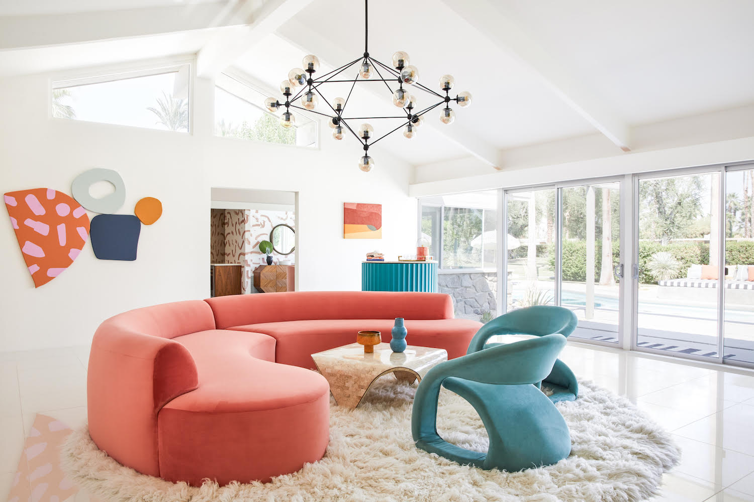 Living Room Decorating Ideas, Bells + Whistles
