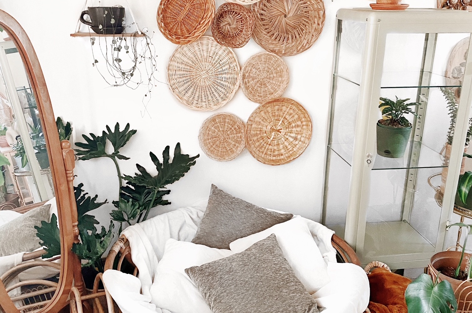 Boho Style Plant-Filled Space of Week