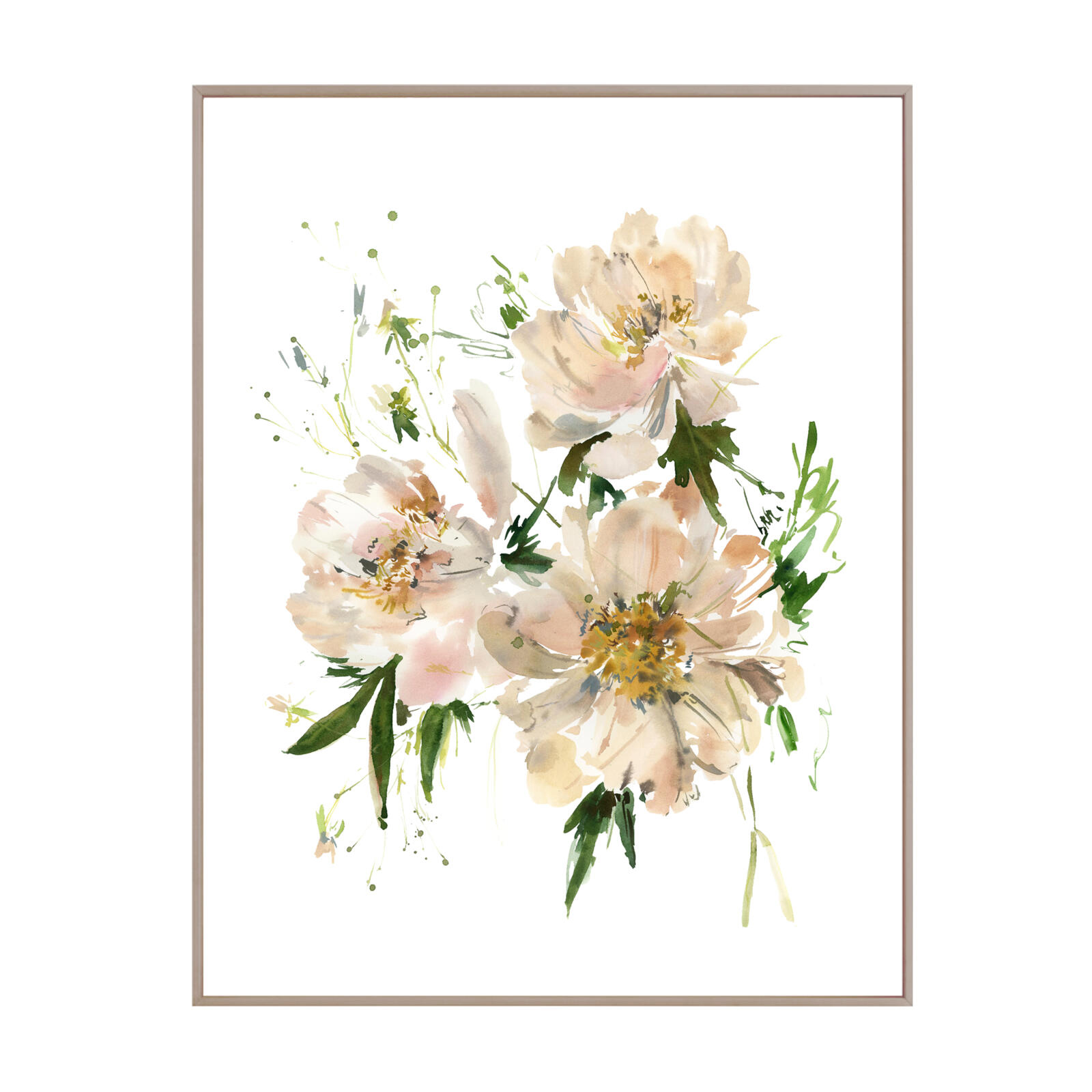 Fading Peonies No.2 Unframed Print