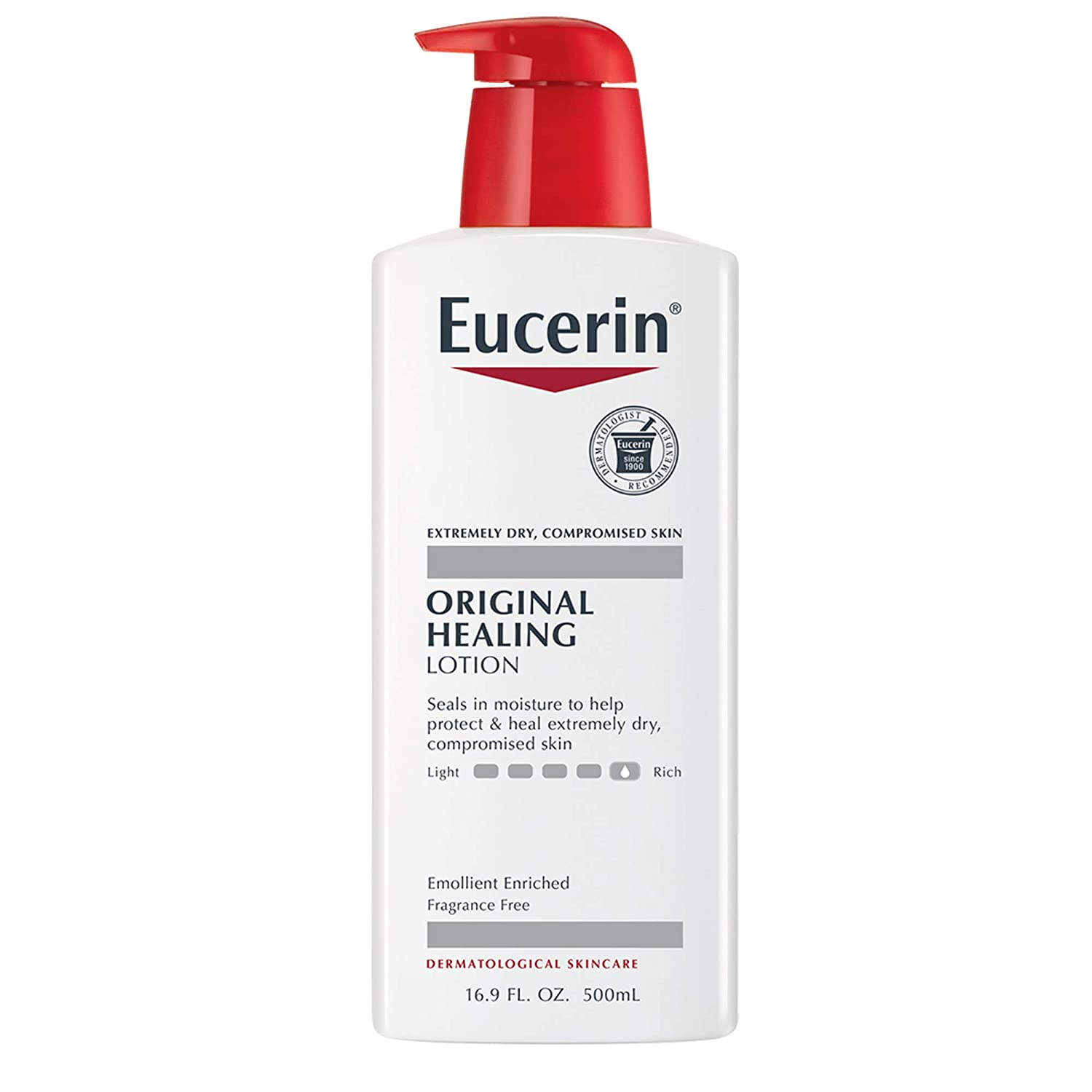 best-fragrance-free-beauty-products-Eucerin Original Healing Lotion
