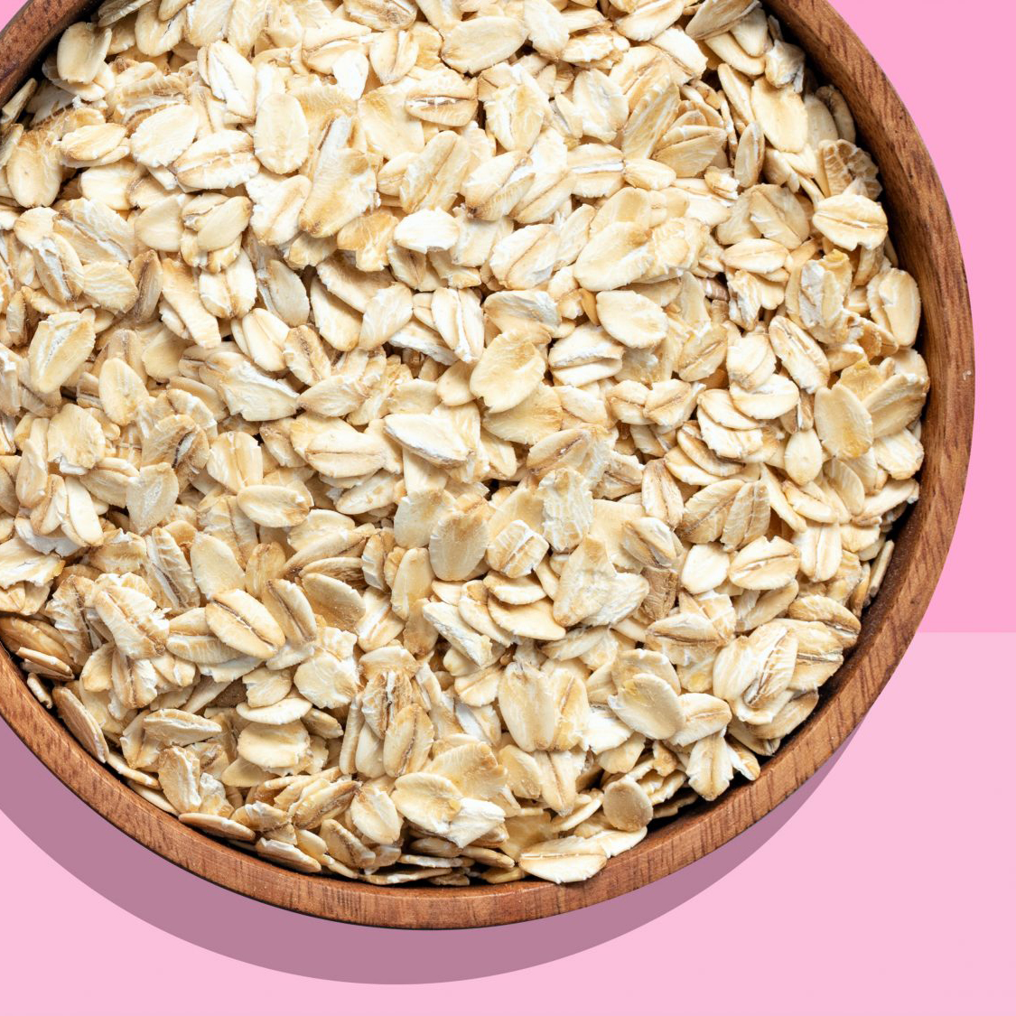 Types of grains - rolled oats (picture)