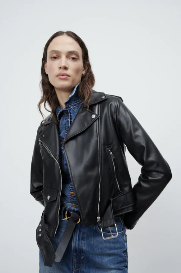 best-moto-jacket-Zara Faux Leather Jacket