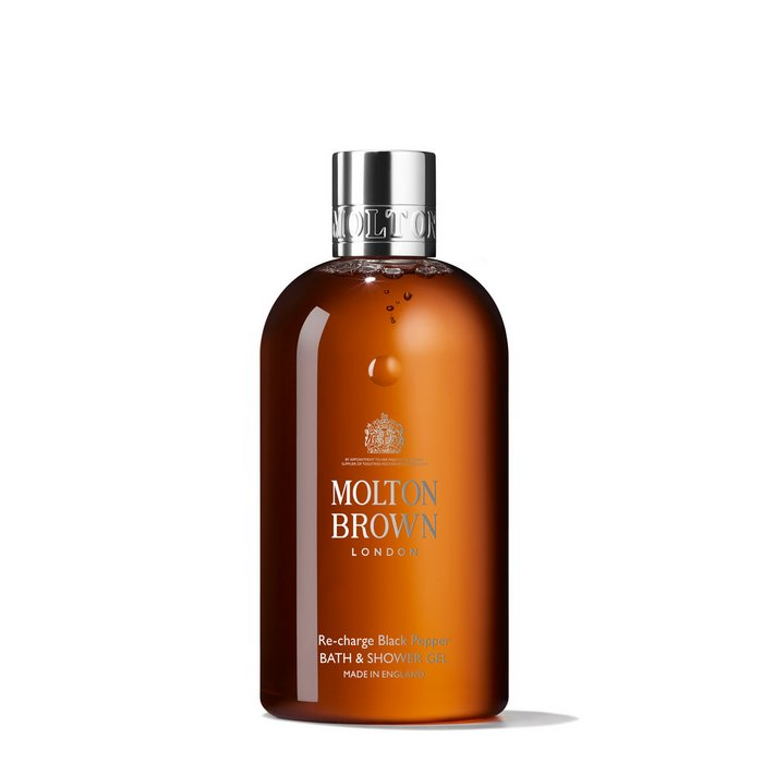 beauty-products-for-mom-Molton Brown Re-Charge Black Pepper Body Wash