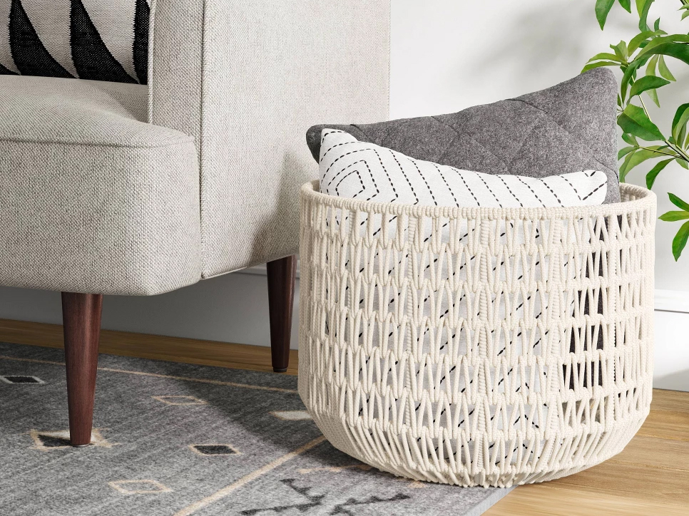 Best Organizers at Target, According to the Pros: rope basket