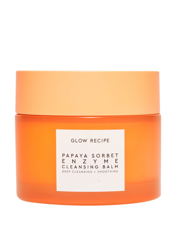 cleansing-balm-Glow Recipe Papaya Sorbet Smoothing Enzyme Cleansing Balm & Makeup Remover