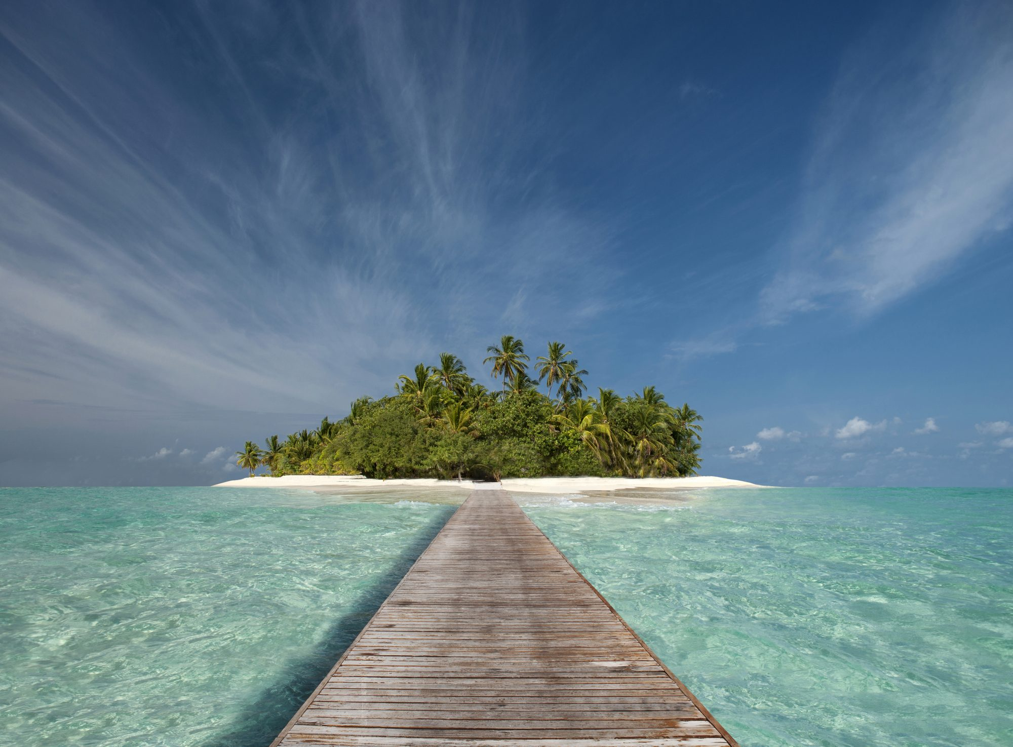 how-to-find-happiness-in-isolation: isolated island