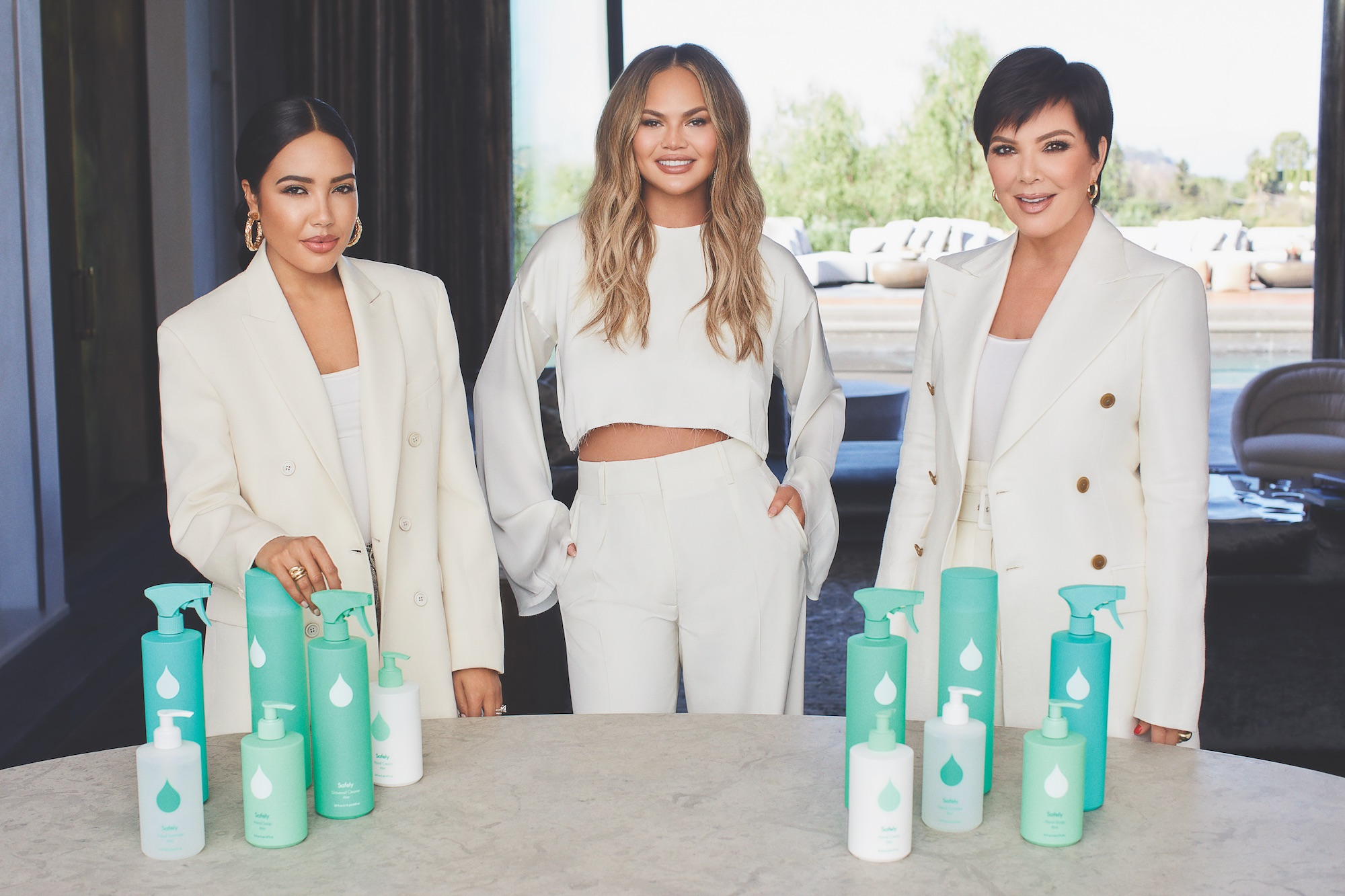Safely Co-Founders, Chrissy Teigen, Kris Jenner, and Emma Grede