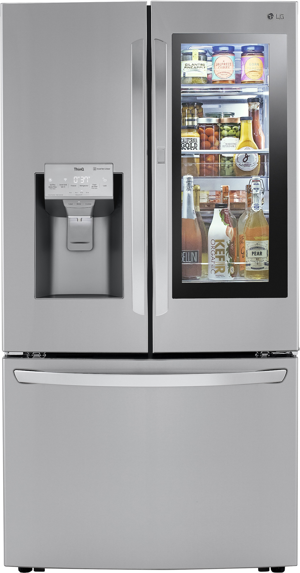 LG French Door Refrigerator with Craft Ice