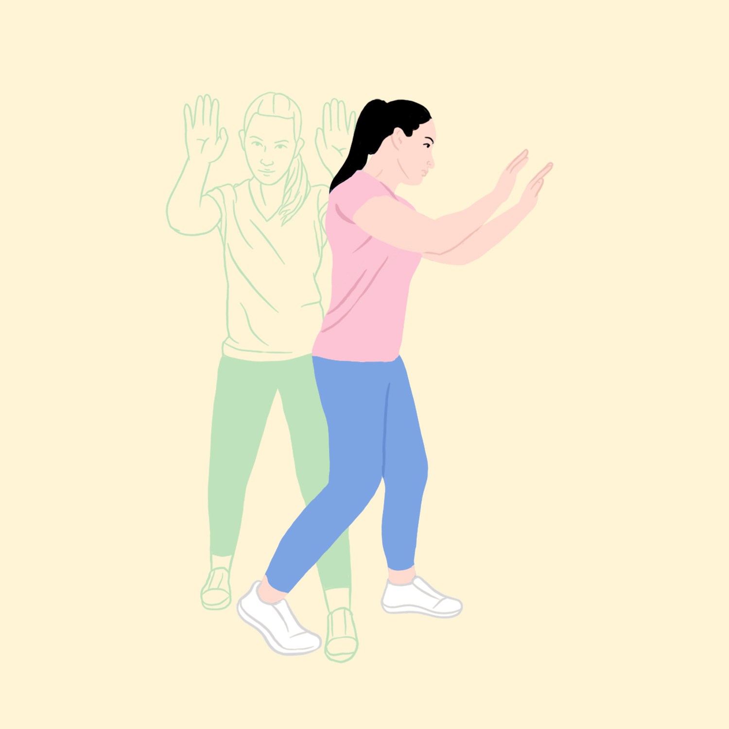 Self-Defense Moves to Know: Ready Stance