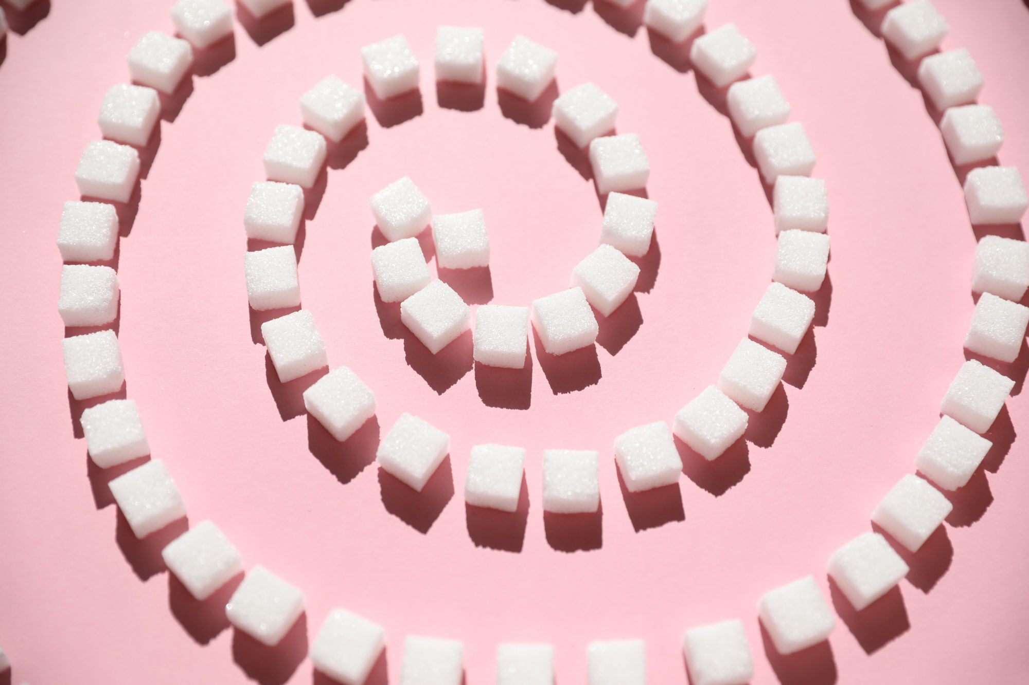 how-sugar-affects-mood: sugar cubes