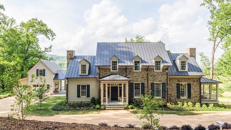 Southern Living House Plan with a Garage Studio