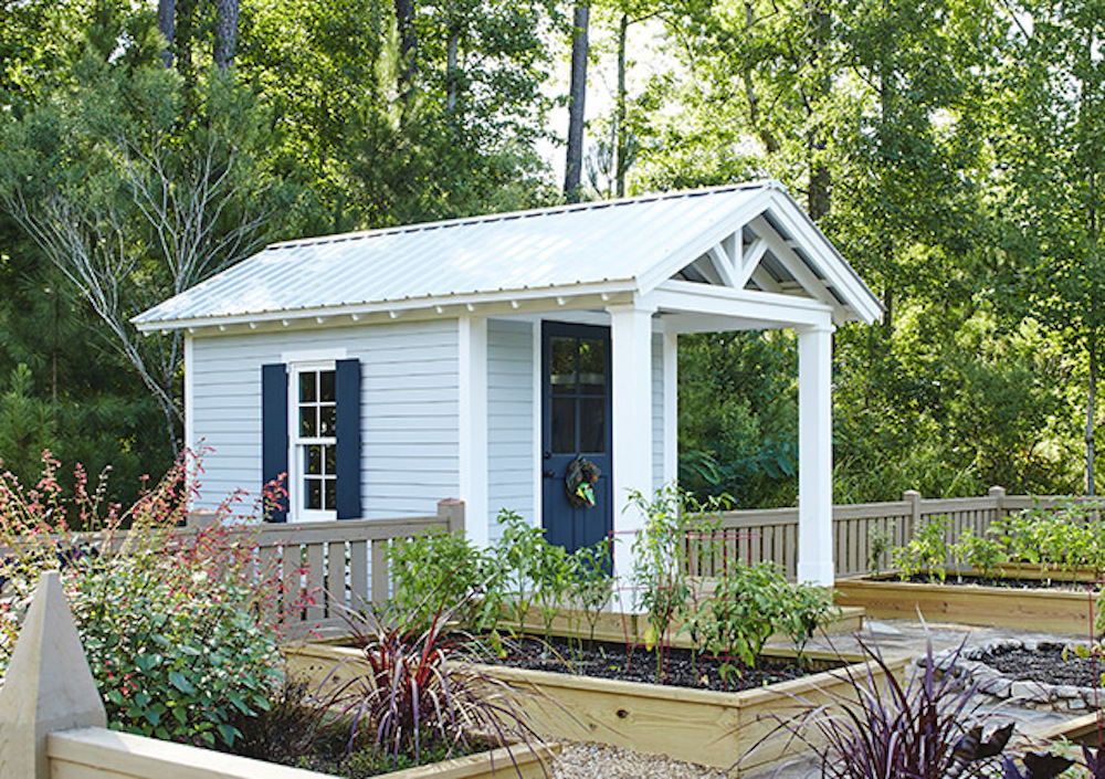 Southern Living House Plans Garden Shed