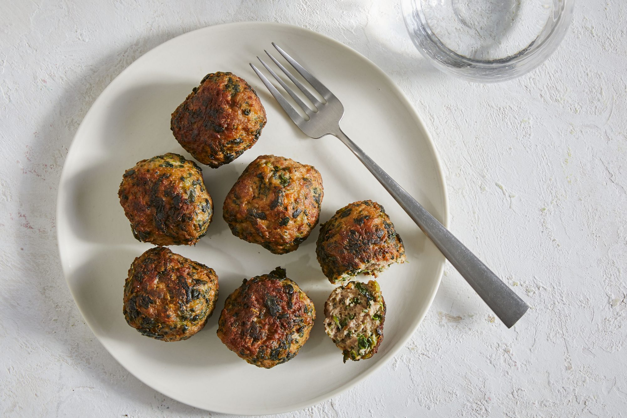 Spinach and Lamb Meatballs