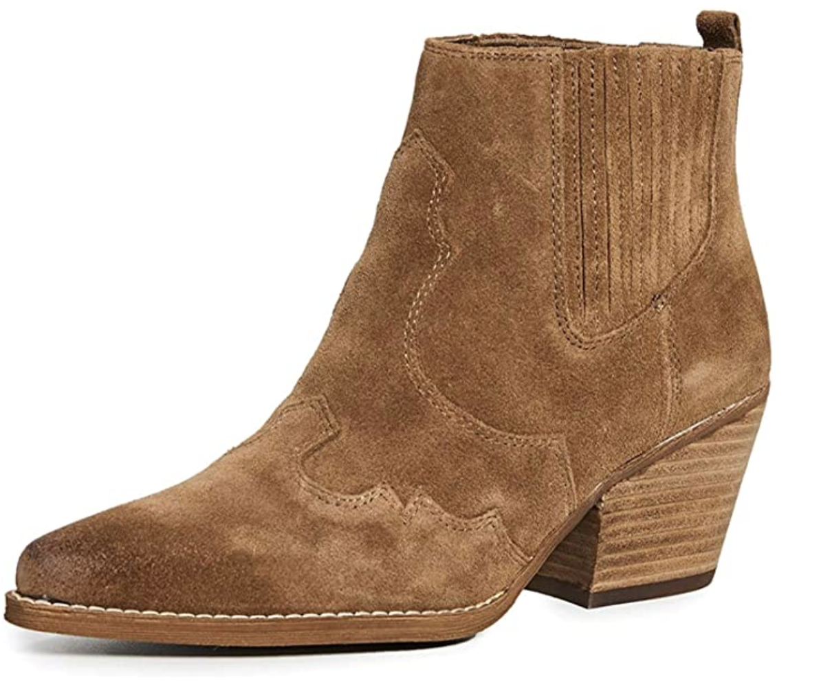 shoes-to-wear-with-flare-jeans-Sam Edelman Winona Western Boot