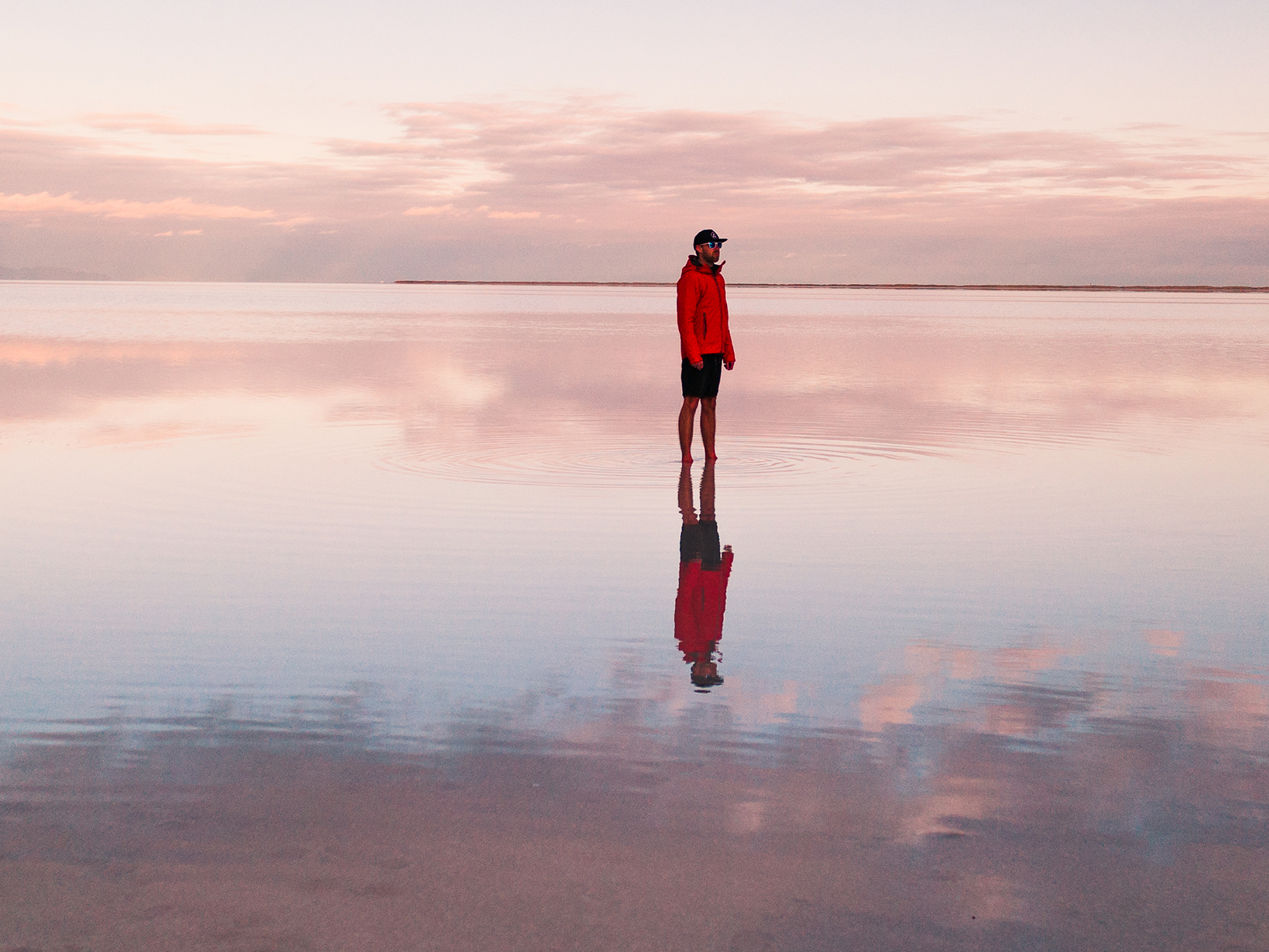 How to Be Self-Aware and Improve Self-Awareness: man alone on a beach