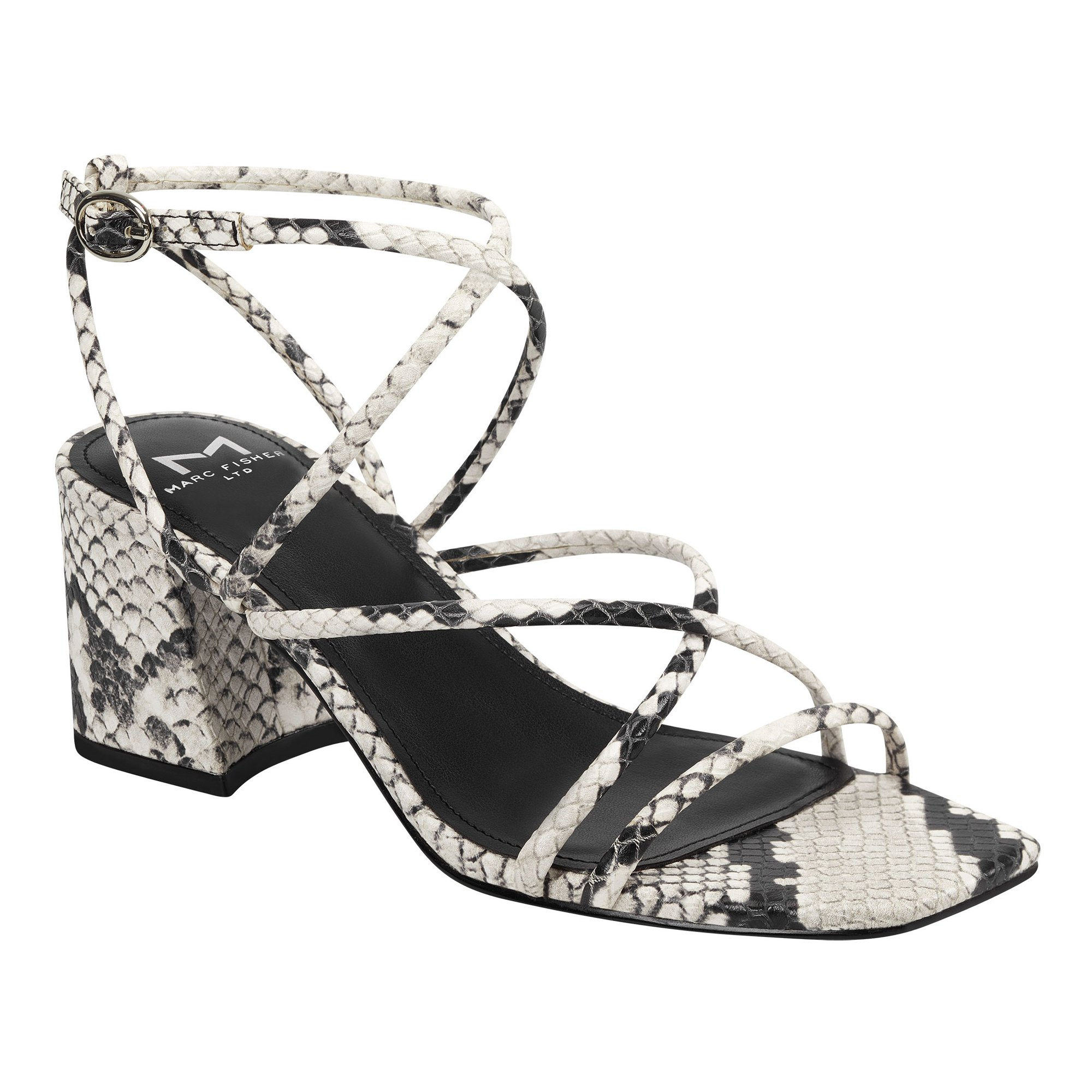 shoes-to-wear-with-flare-jeans-Marc Fischer Jacinda Block Heel Strappy Sandal