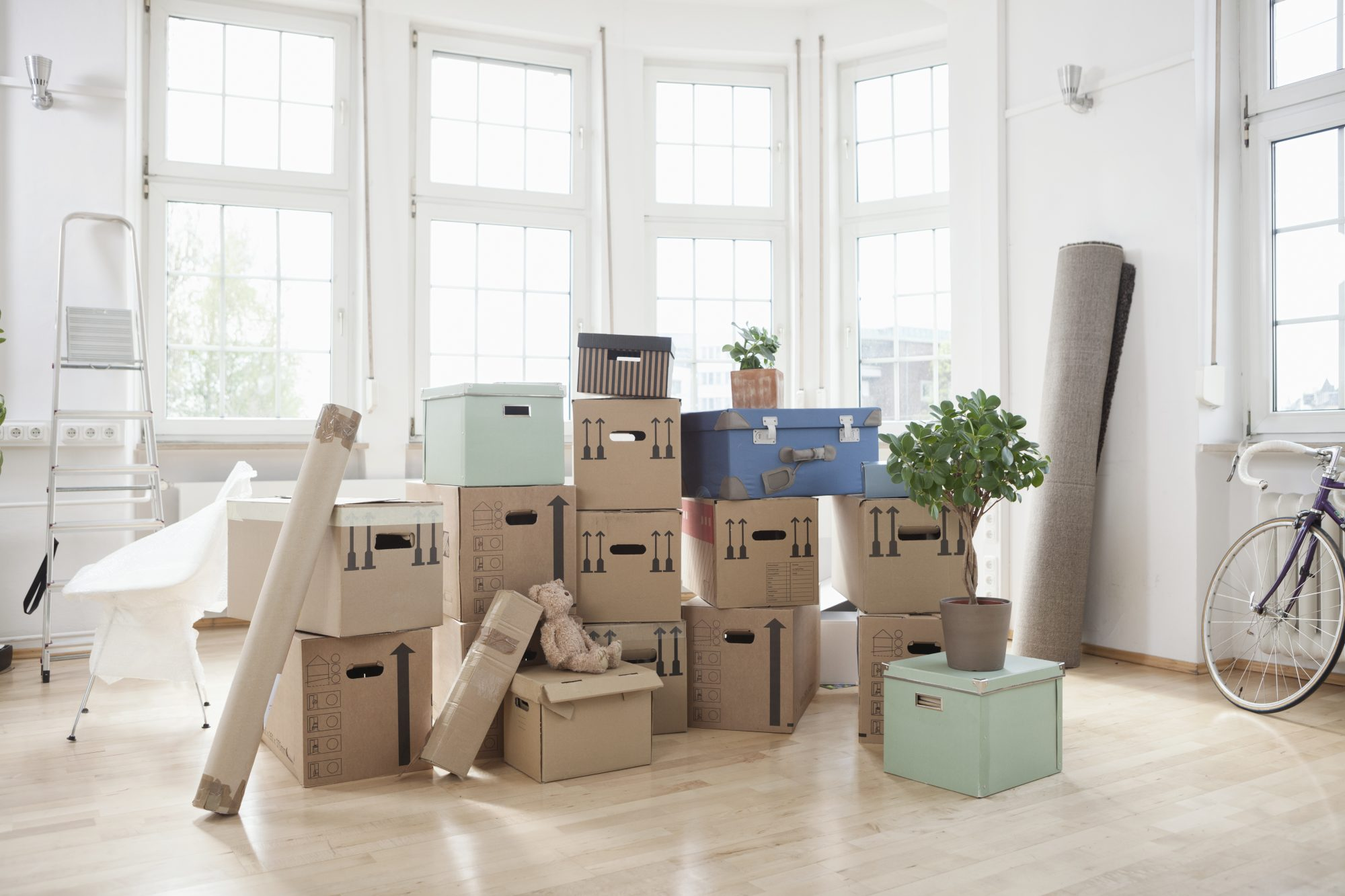 moving-packing-tips: cardboard packing boxes