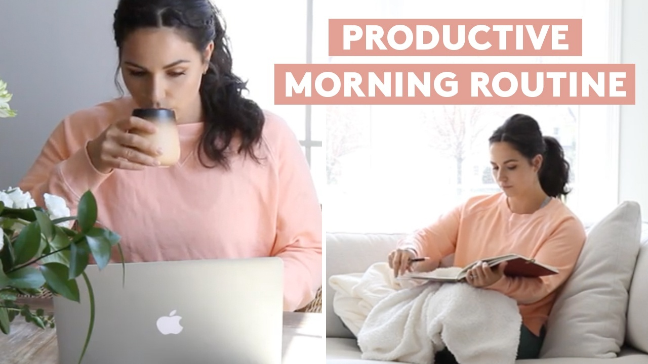Simply video: Haley Cairo morning routine