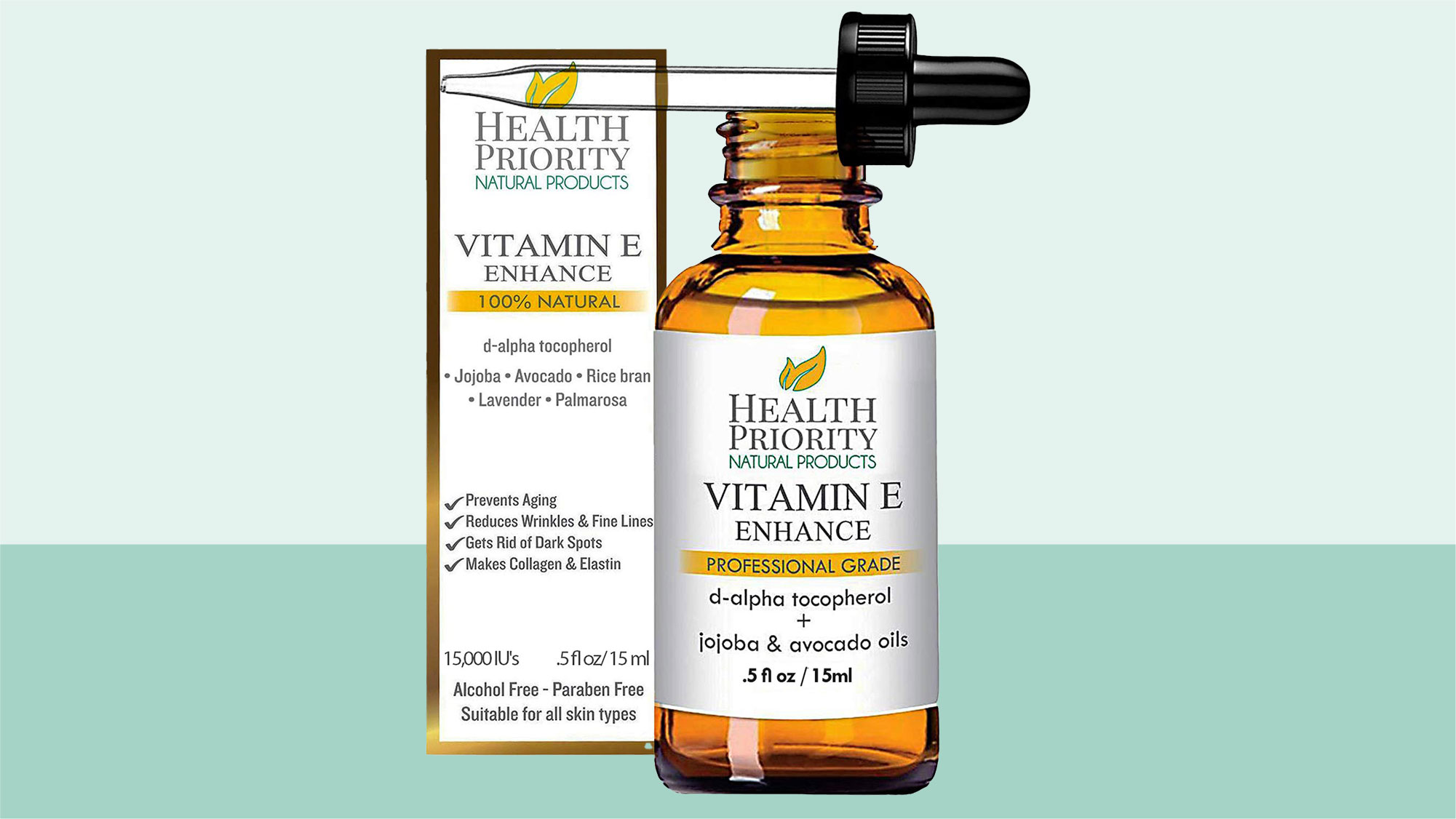 Organic Vitamin E Oil - Small Batch