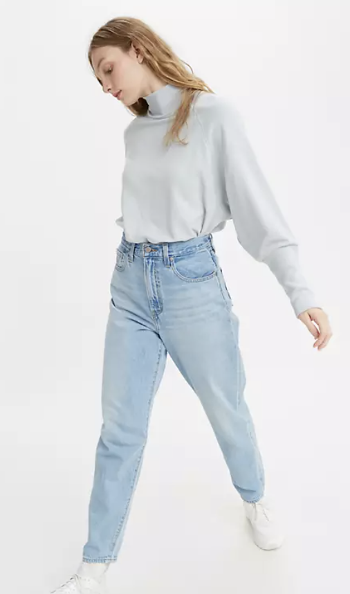 best-mom-jeans-Levi's High Loose Taper Fit Women's Jeans
