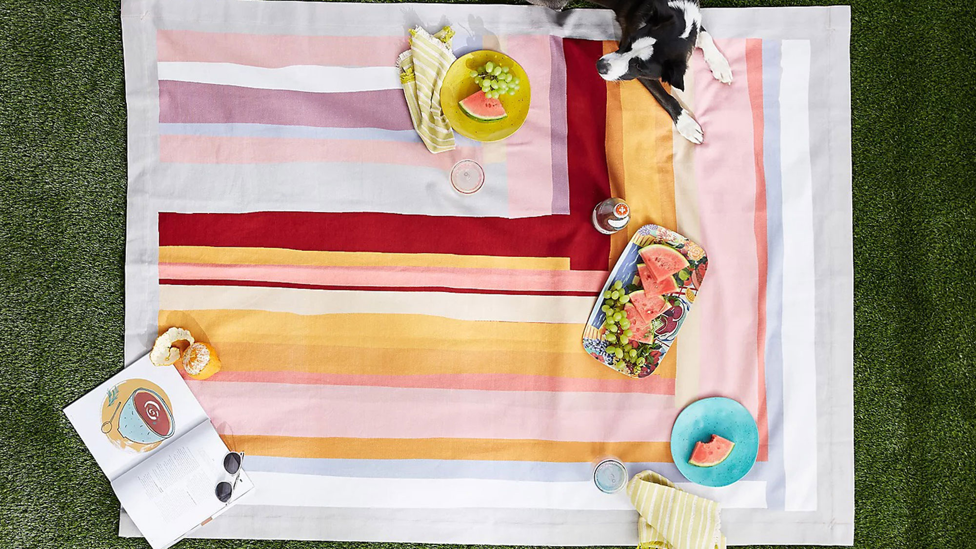 Picnic & Outdoor Blanket Dual Layers for Outdoor Water-Resistant: best picnic blankets
