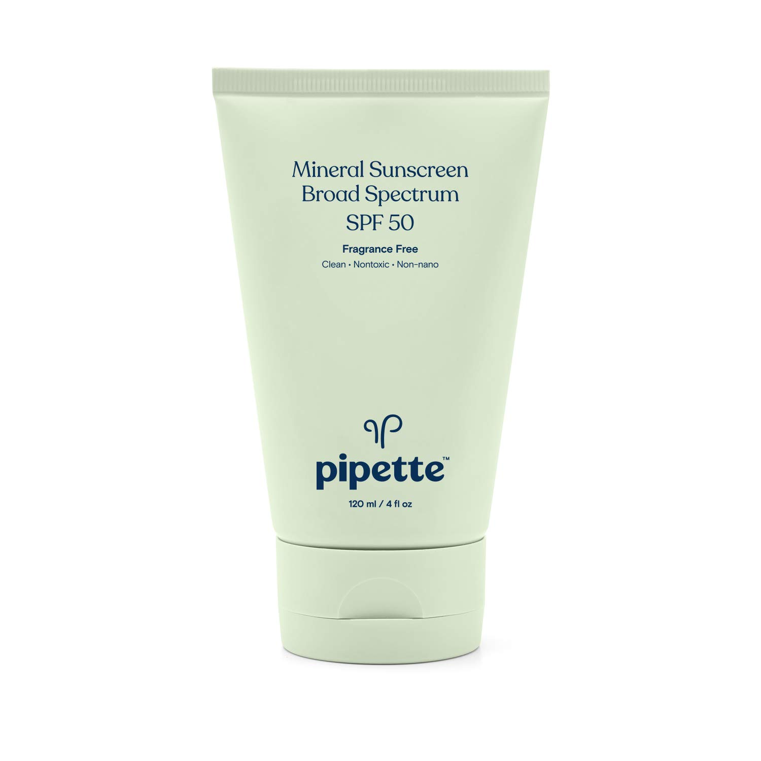 best-mineral-sunscreen-Pipette SPF 50 Mineral Sunscreen Broad Spectrum