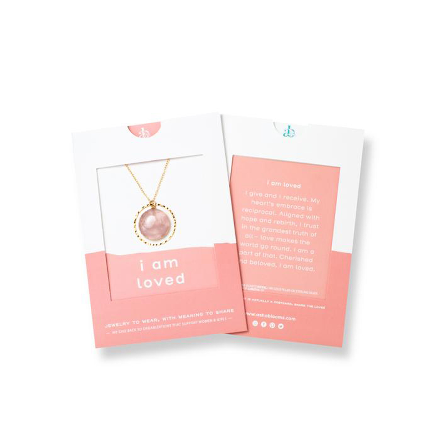 Asha Blooms I Am Loved Necklace