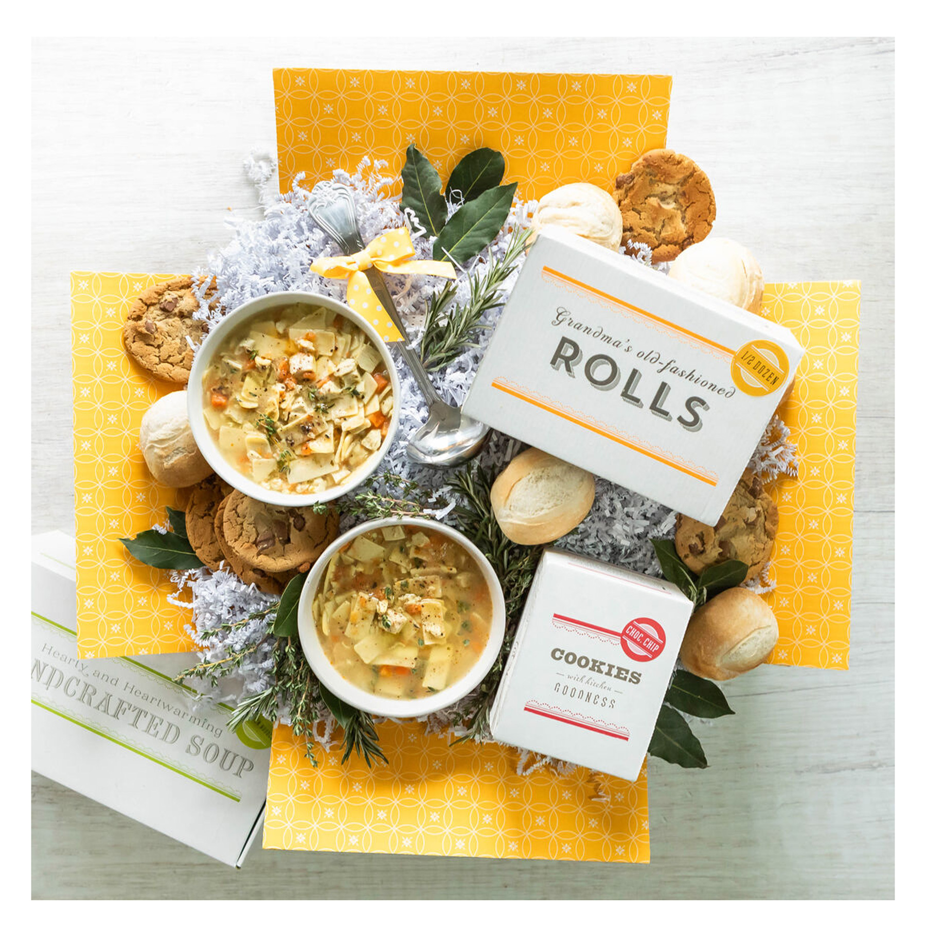 Spoonful of Comfort Soup Delivery Basket