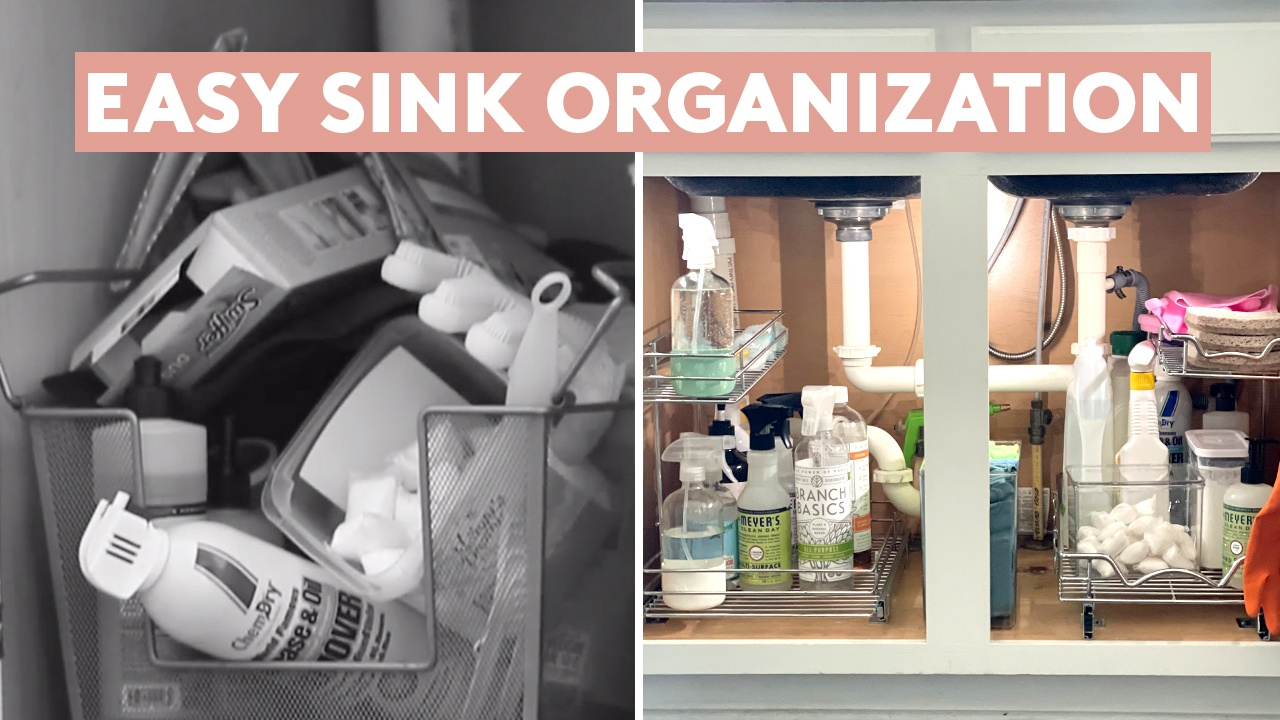 Simply Video: Under-the-sink storage