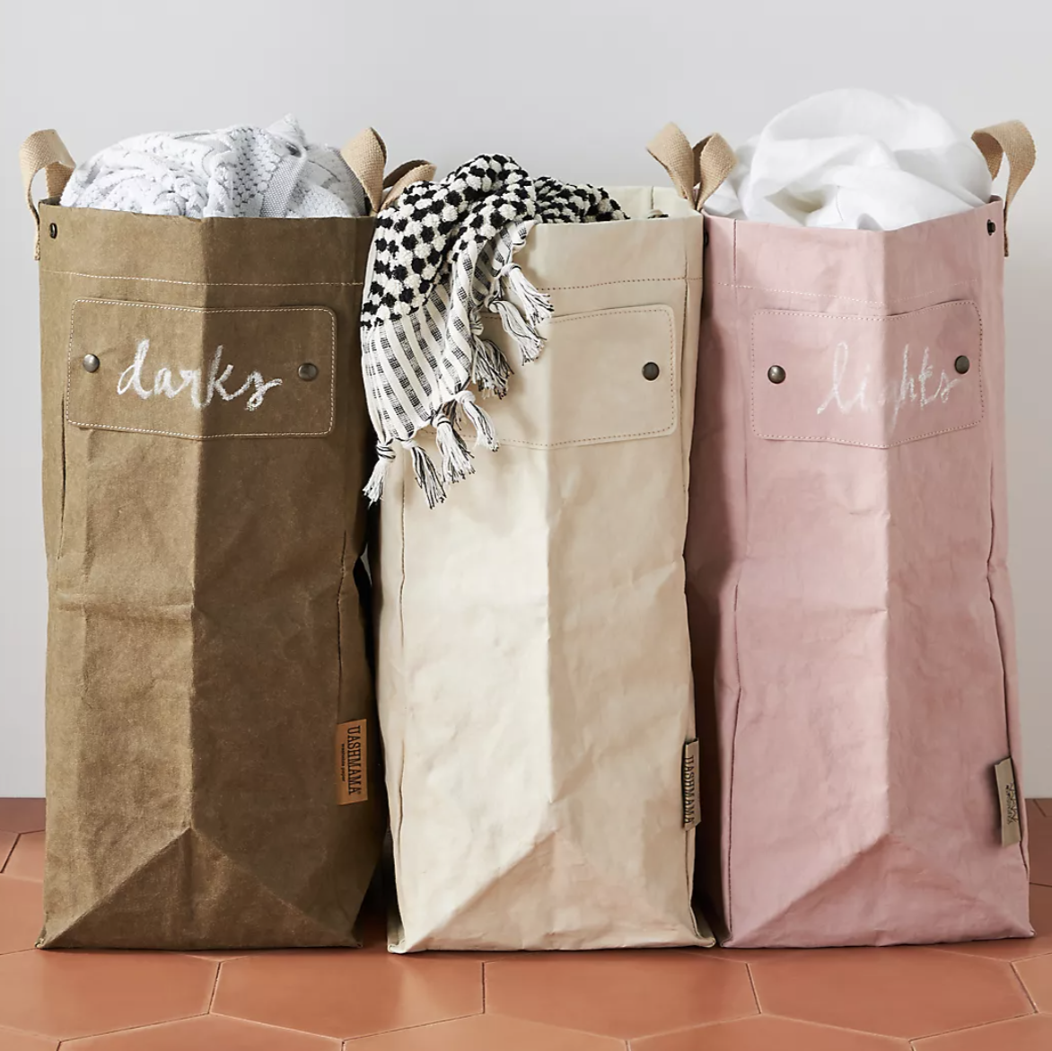 Amalfi Laundry Bag Hamper